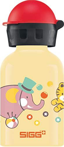 SIGG Fantoni Cantimplora infantil (0.3 L), botella para niños sin sustancias nocivas y con tapa hermética, cantimplora ligera de aluminio