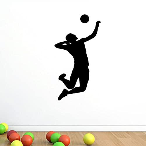 ZZFGXX Pegatinas De Pared,Vinilo Decorativo Baloncesto 43x76cm Adecuado Para Pegatinas De Pared De DecoracióN Del Hogar De Dormitorio Y Sala De Estar
