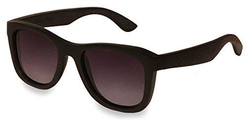 retrostiel Holz Sonnenbrille Overseer Black