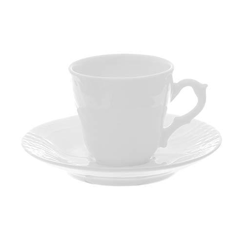 Tazza da caff� in porcellana, da 100 ml, con piattino