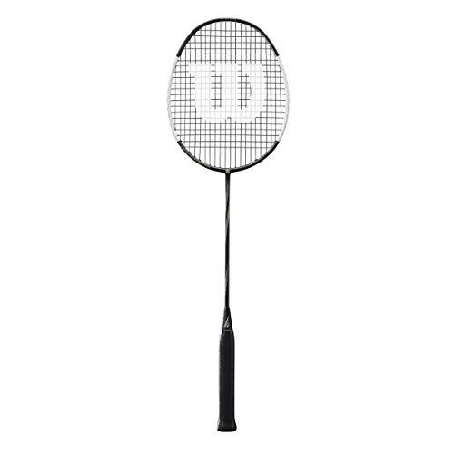 Wilson Badminton-Schläger, Blaze SX8000, Unisex, Griffstärke: 5, schwarz/weiß, Neutral, WRT8827004