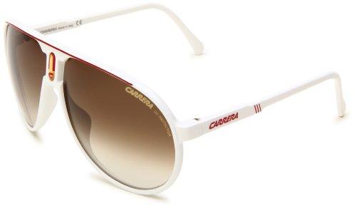 Carrera CHAMPION L WHTE Rojo/CR-BRWNGris SHD - Gafas de sol (CHAMPION-L-CCO-DB-62-.