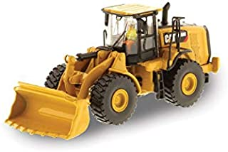 CAT Caterpillar 966M Wheel Loader with Operator High Line Series 1/87 (HO) Scale Diecast Model by Diecast Masters 85948