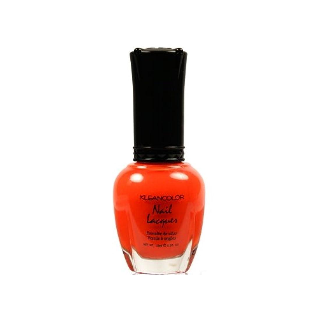 素晴らしい金属国際KLEANCOLOR Nail Lacquer 4 - Tangerine Burst (並行輸入品)