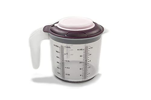 Tupperware Backen Messbecher Candy Mini 1,2 L lila D217 Rührbecher Rühr-Mix