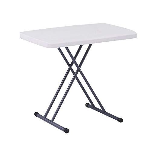 Opvouwbare tafel, in hoogte verstelbare opklapbare tafelkampeermeubelen als tuintafel, familietafel, kinderbureau, bureau, eettafel, reisbureau. (laadvermogen 100 Kg)