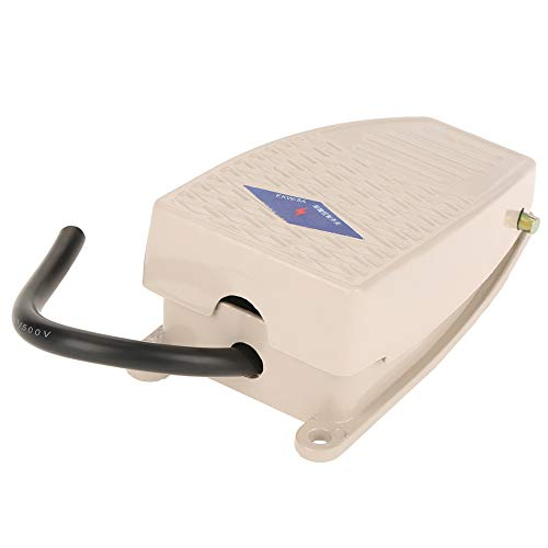 Controlador de pedal, controlador de pie normalmente de aluminio, control momentáneo, herramienta de conmutación para uso industrial