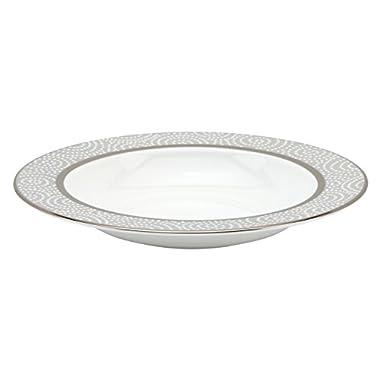 Lenox Pearl Beads Rim Soup/Pasta Bowl, 9-Inch