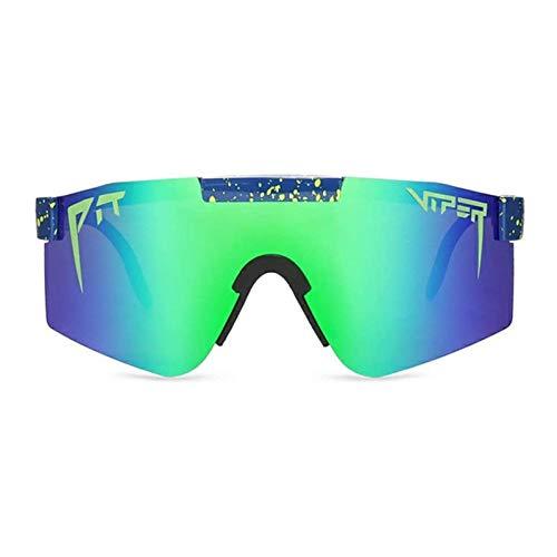 Wenhe Gafas de sol deportivas polarizadas con protección UV para hombre y mujer, para ciclismo, béisbol, esquí, deportes