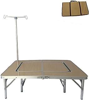 通販のトココ ベンチセット アウトドアテーブル付チェア 調節可能 キャンプ用品 折りたたみレジャーテーブル [並行輸入品]
