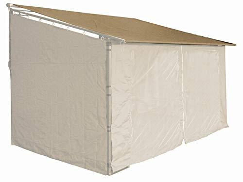 QUICK STAR Ersatzdach Roll Pavillon 3x4m Pavillondach Markise Ersatzbezug Sand