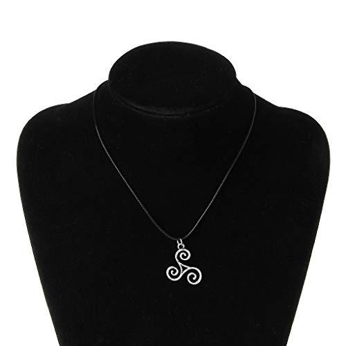 RG-FA Punk Sliver Teen Wolf ispirato collana con ciondolo da uomo Triskele Jewelry di Scott
