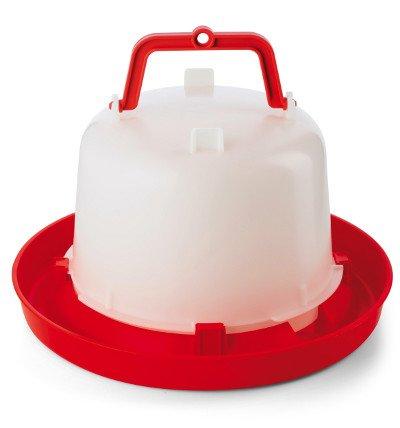 Stülptränke Tränke mit Henkel für Hühner und Wachteln 5,0 Liter