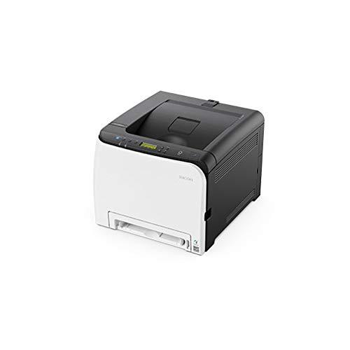 Ricoh SP C261DNw - Imprimante - Couleur - Recto-Verso - Laser - A4/Legal - 2400 x 600 PPP - jusqu'à 20 ppm (Mono) / jusqu'à 20 ppm (Couleur) - capacité : 250 Feuilles - USB 2.0, LAN, Wi-FI(n), hôte U