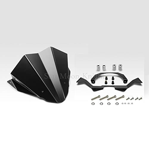 Revelación Accesorios para motocicletas Aluminio Windserlield Windshield Wind Shield Deflector para Honda...