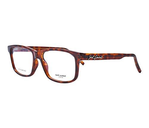 Yves Saint Laurent SL-319 003 Acetate - Gafas de sol (plástico), color marrón oscuro