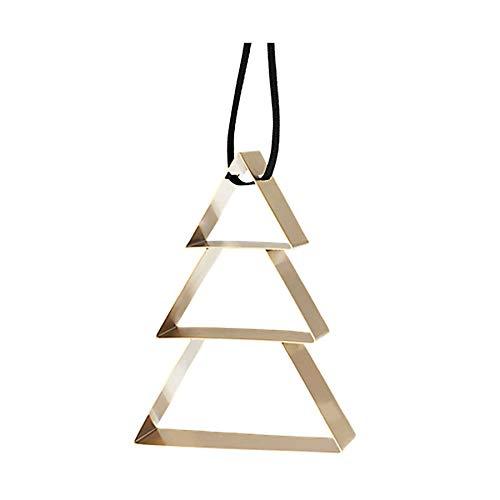 Stelton [SA2021/08] Figura Ornament Weihnachtsbaum, groß - brassüberzug