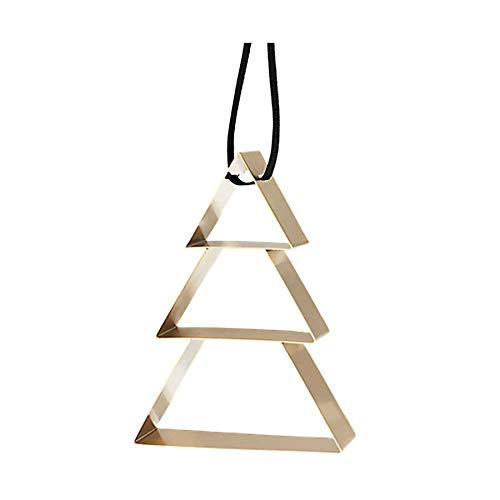 Stelton Figura Ornament Weihnachtsbaum, groß - brassüberzug