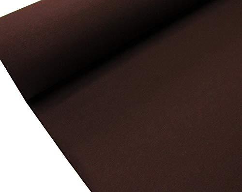 Confección Saymi - Metraje 2,45 MTS. Tejido loneta Lisa Nº 156 Marrón Oscuro con Ancho 2,80 MTS.