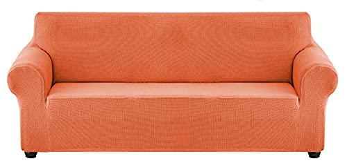 HXTSWGS Protector elástico Slipcovers,Funda de sofá elástica, Funda de sofá, Funda de sofá Impermeable, Funda de sofá, Funda de sofá, Adecuado para niños, Pets-Orange_180-240CM