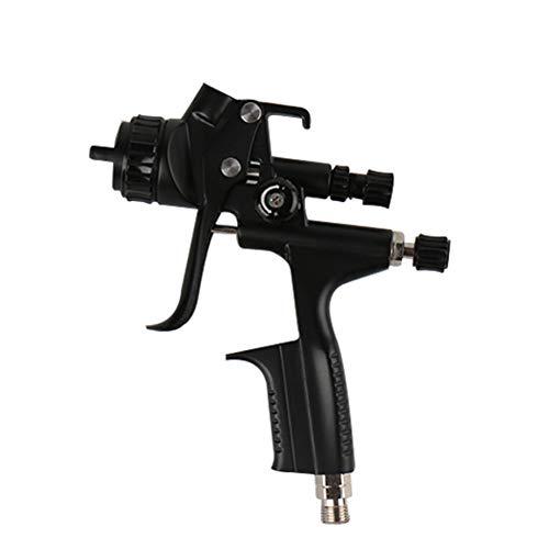 WEZER OTY HVLP Lackierpistole Spritzpistole,Ausgestattet Mit 2Mm Düse Und 0.6L Kunststoff-Gießkanne,Geeignet Für Die Autooberfläche,M500g,2.0MM