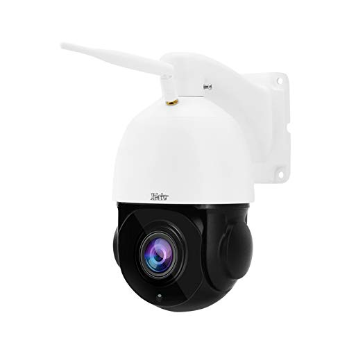 Outdoor PTZ WiFi 5MP 20X Optical Zoom Wireless IP Auto-Tracking Camera for Security Surveillance with Audio Support IP66 Waterproof,ONVIF Protocol,200ft IR Night Vision and Auto Cruise