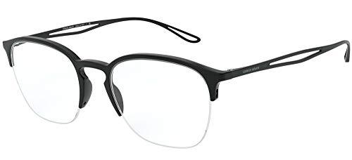 Armani 0AR7175 Gafas, Negro, 52 para Hombre