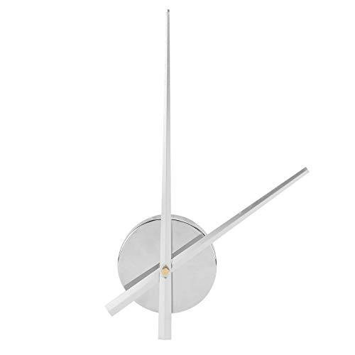 Garneck Novedad Reloj de Cuarzo Cruz Pared Mecanismo de Reloj de Pared Arte Puntadas Accesorios DIY reemplazo sin batería
