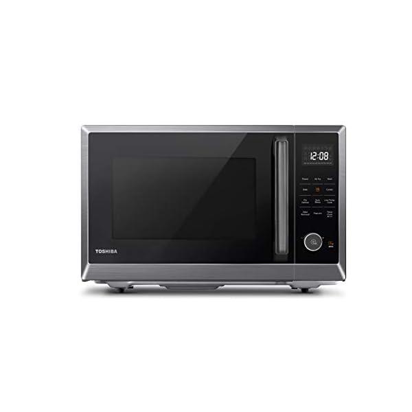 Toshiba EM131A5C-BS Microwave Oven with Smart Sensor, Easy Clean Interior, ECO Mode...