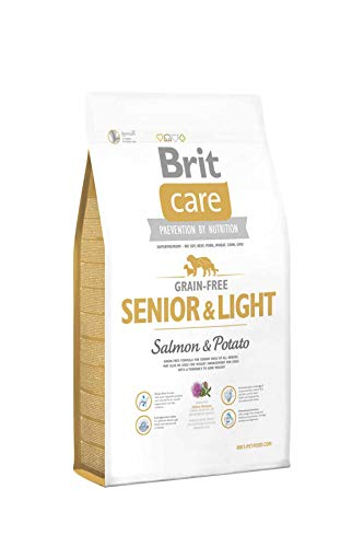 Brit Care Senior Light Salmon Potato Getreidefrei Hundefutter 12kg