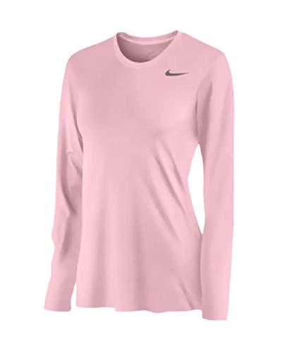 Nike Women's Legend L/S T SP20 TOP - Shy Pink/Shy Pink/Cool Grey