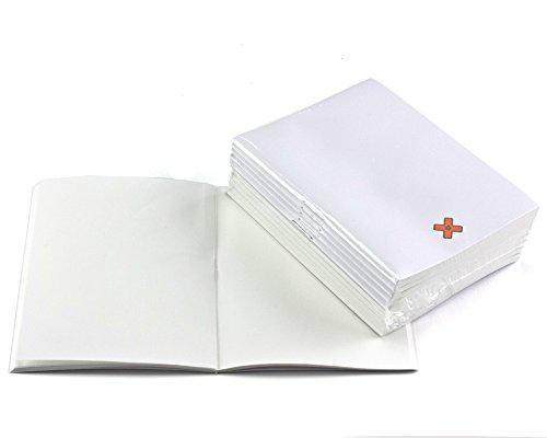 Notizhefte A7 blanko 10er Pack, Roh-Sortierung