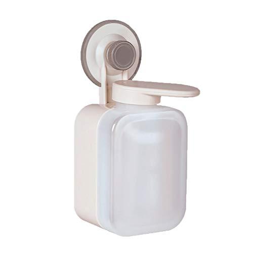 Dispensador de loción, Dispensador de montaje en pared, recargable Comercial dispensador de jabón, montado en la pared dispensadores de jabón líquido for el baño, Body Wash, plástico ABS Bomba de duch