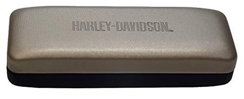 Harley Davidson Eyeglass Case in Metallic and...
