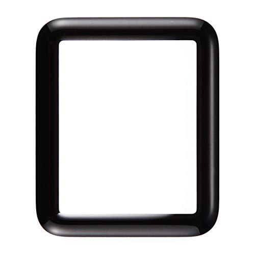 Displayglas Frontglas Ersatzglas für Apple Watch Serie 1/2 / 3 Reparatur Schwarz 42mm