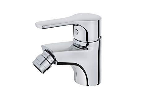 Strohm TEKA - Grifo monomando de baño INCA PRO. Grifo de bidet con rotura giratoria y aireador anti-cal.