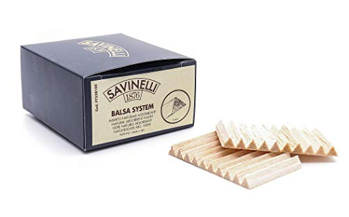 Filtri balsa Savinelli 6 mm (confezione 100pz) (6mm, Confezione 100 pezzi)