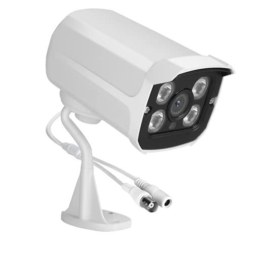 WOUPY Cámara de Seguridad para el hogar 1080P HD, cámara de vigilancia para el hogar Cámara de Seguridad AHD, para día y Noche al Aire Libre/Interior