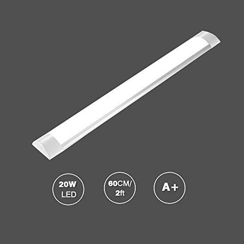 Bellanny LED Lichtleiste,20W LED Röhre, 60CM, Neutralweiß(4000K), Leuchtstoffröhre für Schlafzimmer, Küche, Arbeitszimmer, Büro usw.