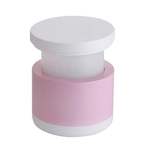 Preisvergleich Produktbild YSDHE Nachttischlampe Tischlampe USB Lade Nachtlicht LED Retractable Kleine Tischleuchte Persönlichkeit Augenschutz Funktionelle Schreibtischlampe Kreative Atmosphäre Geschenk Licht (Color : Pink)