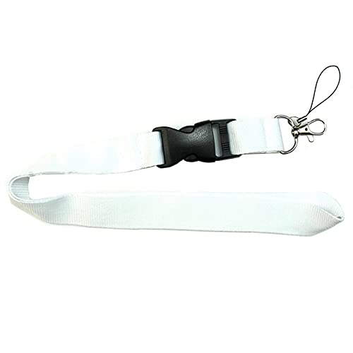 FYMIJJ For Phone Neck Strap Keys Hanging Colorful Blank Phone Lanyard Rope Badge Holders Lanyard Keychains Rope,WT