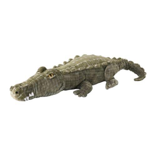 Ikea HARSKARE -Stofftier Krokodil