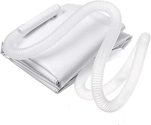 Lavabo Shampoo Gonfiabile in PVC, lavabo Portatile per Capelli, lavabo per Anziani Lavabo shampoo portatile Letto da bagno Aiuti ausiliari rilegati per disabili 60 * 55 * 22cm