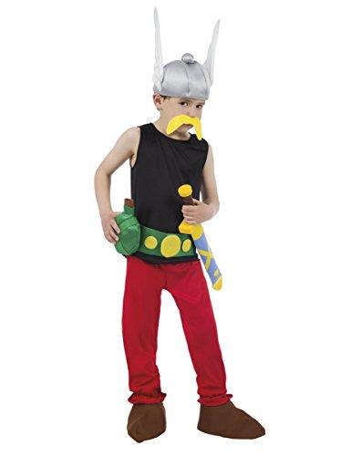 COOLMP Déguisement Astérix Enfant - Astérix et Obélix - Taille 9 à 10 Ans (140 cm) - Déguisement pour Enfant, garçon et Fille, Anniversaire, Carnaval