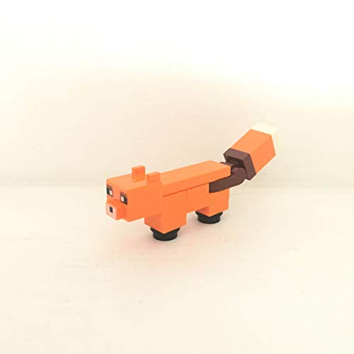 maisterkaio-de Lego Figur Fuchs -- Minecraft -- (aus Set 21162, mit anderem Lego Kompatibel)