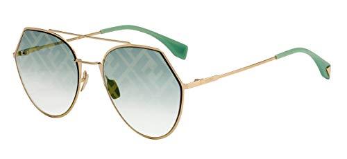 Fendi Ff 0194/s Gafas de sol Mujer Oro