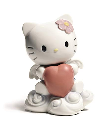 Nao Porcelain by Lladro FROM THE HEART HELLO KITTY COLLECTION 2001696
