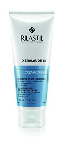Rilastil Xeralaude 18 - Crema Hidratante y Exfoliante Corporal para Zonas Localizadas y Pieles Muy Secas - 100 ml
