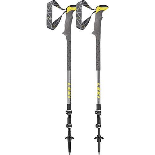 LEKI Sherpa Lite XTG Wanderstöcke, Grey/Yellow
