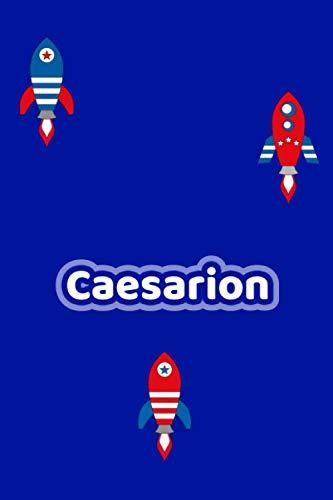 Caesarion: Personalisiertes Vornamen Notizbuch / Tagebuch - 120 Seiten - Punkteraster - Format 6x9 ca. DIN A5 (German Edition)